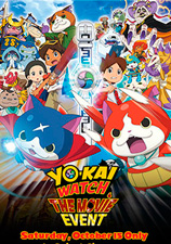Cartel Yo-Kai Watch: La Película