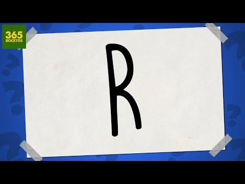como dibujar a partir de letras