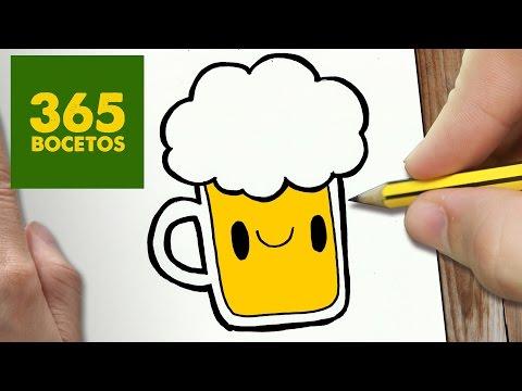 como dibujar bebidas