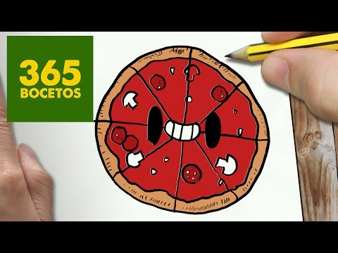como dibujar comida