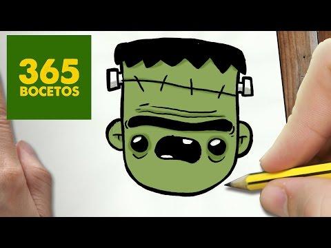 Como dibujar Monstruos