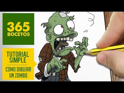 Como dibujar Zombies