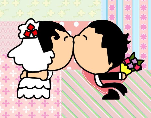 Dibujos de Besos para Colorear  Dibujosnet