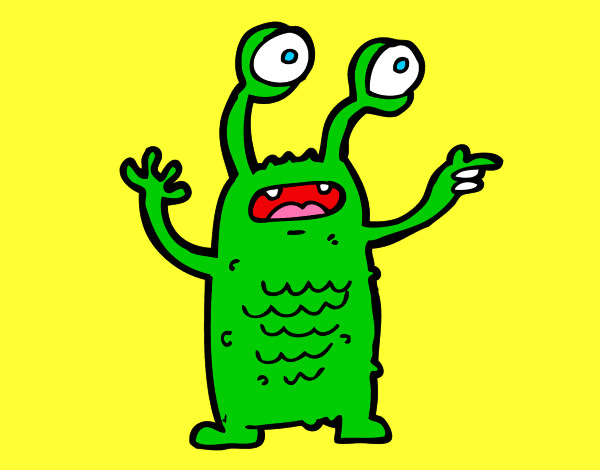 Dibujos de extraterrestres para colorear for Dibujos infantiles pintados