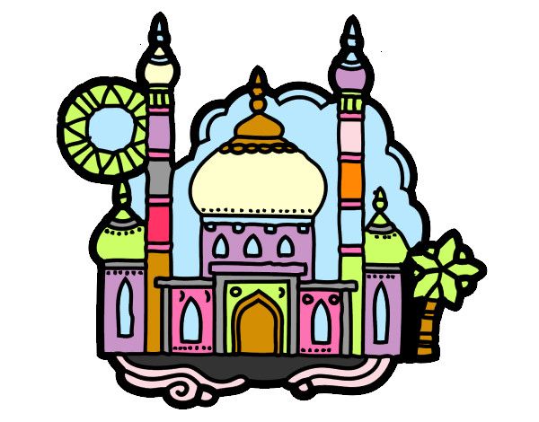 Dibujos de Edificios para Colorear  Dibujosnet