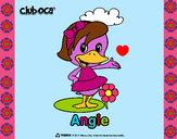 Dibujo Angie pintado por deyanira24