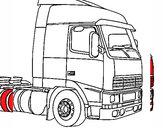 Dibujo Camión 5 pintado por SKX176