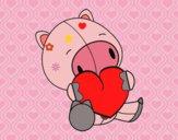 Cerdito enamorado