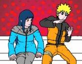 Hinata y Naruto