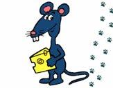 Dibujo Rata 2 pintado por ninda33123