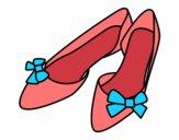 Zapatos con lazos