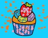 Bombón de fresa