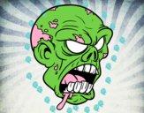 Cabeza de zombi