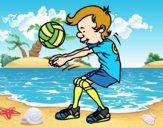 Saque de voleibol