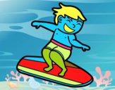 Surf con tabla