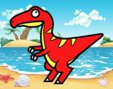 Velociraptor bebé