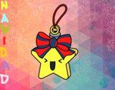 Dibujo Estrella navideña pintado por audora