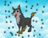 Dibujo Perro mestizo pintado por ludyael