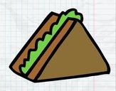 Dibujo Medio sandwich pintado por aranzazu89