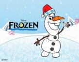 Frozen Olaf en Navidad
