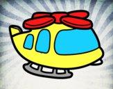 Helicóptero grande