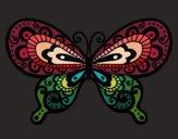 Dibujo Mariposa bonita pintado por ItzelFL