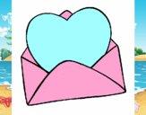 Corazón en un sobre