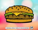 Dibujo Crea tu hamburguesa pintado por kevin312