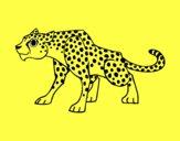 Dibujo Un leopardo pintado por tabathamc