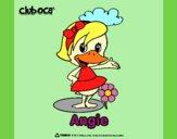 Dibujo Angie pintado por queyla