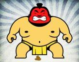 Dibujo Luchador japonés pintado por EmilioMena