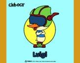 Dibujo Luigi pintado por queyla