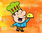 Cocinero gracioso