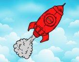 Cohete a propulsión