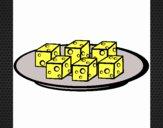 Taquitos de queso