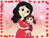 Madre con su hija