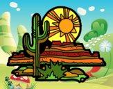 Dibujo Desierto de Colorado pintado por cecil13