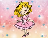Dibujo Joven princesa pintado por lolyyfeli