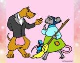 Dibujo La ratita presumida 11 pintado por NucaBoira4