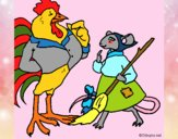 Dibujo La ratita presumida 13 pintado por NucaBoira4