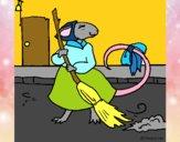 Dibujo La ratita presumida 8 pintado por NucaBoira4