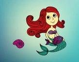 Sirena y su pez