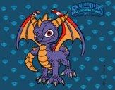 Dibujo Spyro pintado por Rudo