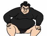 Luchador de sumo furioso