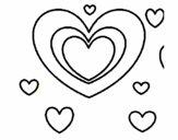 Muchos corazones
