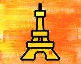 Dibujo Torre pintado por fabianny