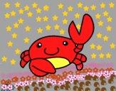 Acuarel el cangrejo