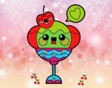 Copa de helado kawaii