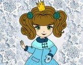 Dibujo Princesa del invierno pintado por DiamondB