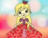 Dibujo Princesita pintado por amby